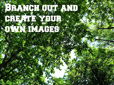 create your own images using pic monkey
