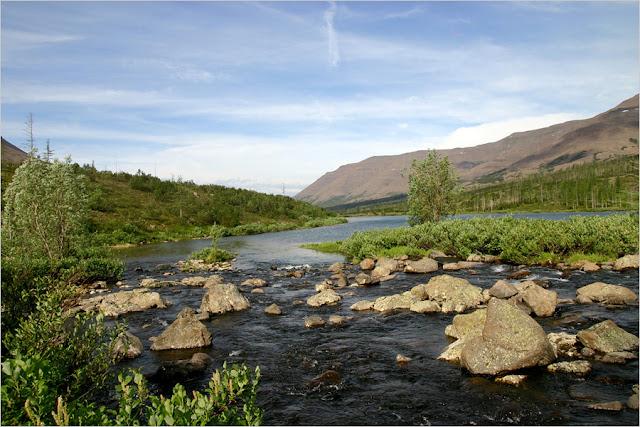 Taimyr-Poxod-Glubokoe-Kyltellar-Bugar-Ekekoy-озеро Бугар(протока)