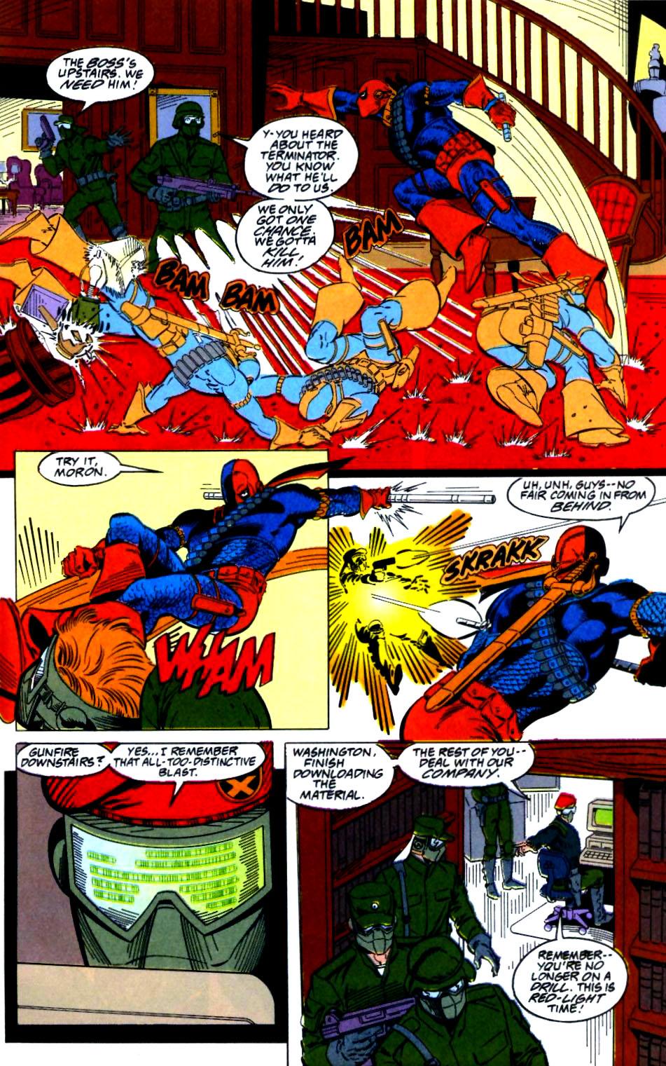 Deathstroke (1991) Issue #27 #32 - English 18