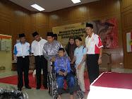Penyampaian Bantuan OKU Oleh Ketua Penerangan UMNO Malaysia