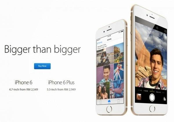 Harga Iphone 6 Iphone 6 Plus Ditingkatkan Kemungkinan Kerana Nilai Ringgit Jatuh
