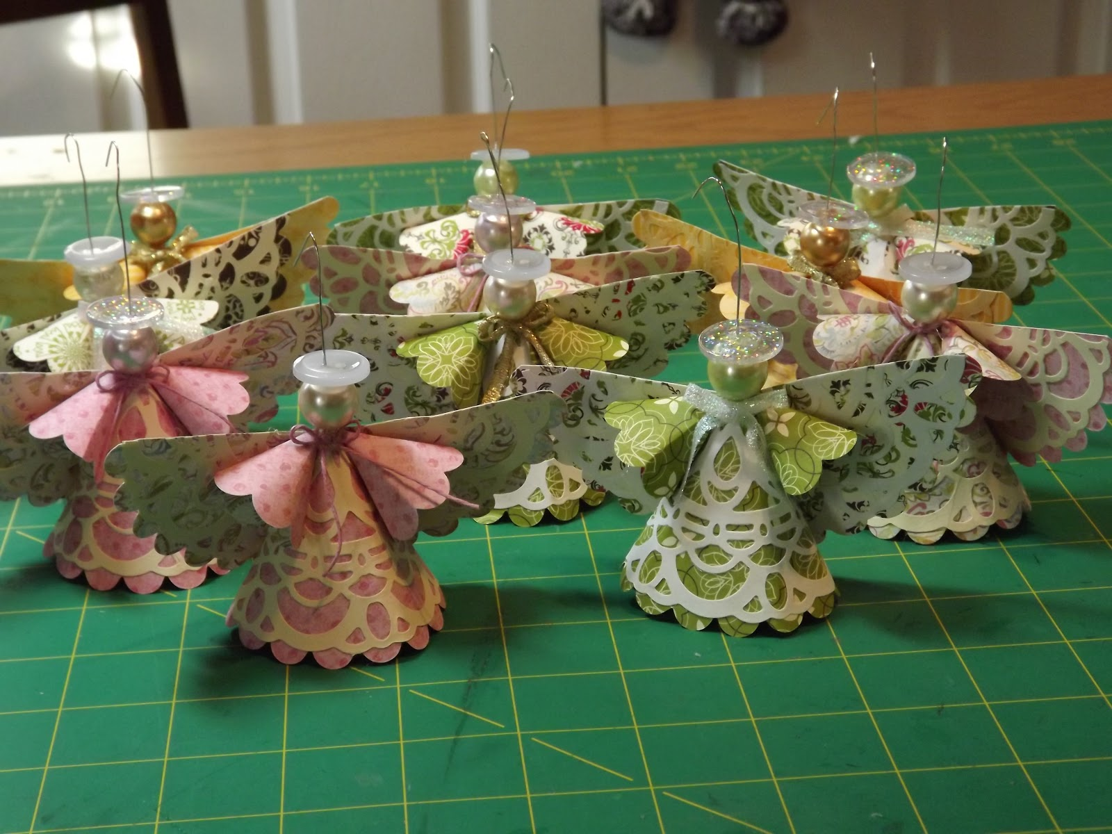 Nanny 39 s pansy patch christmas angels for Craft angels to make