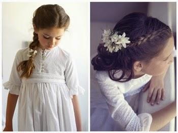 Tendencias Peinados para niñas de primera comunión 2014