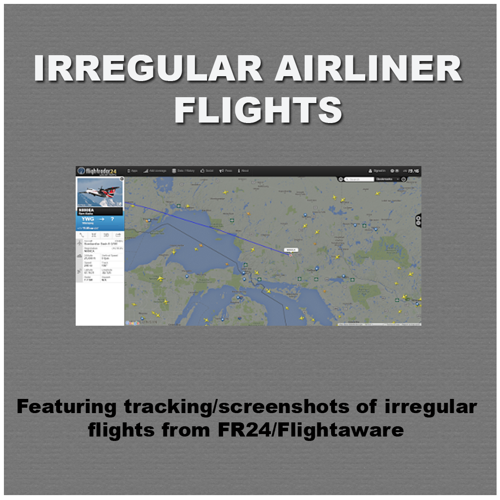 Irregular Airliner Flights