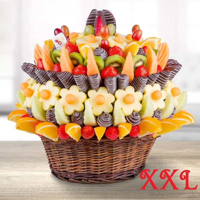 Restaurants and food incredible flowers Fruit bouquet