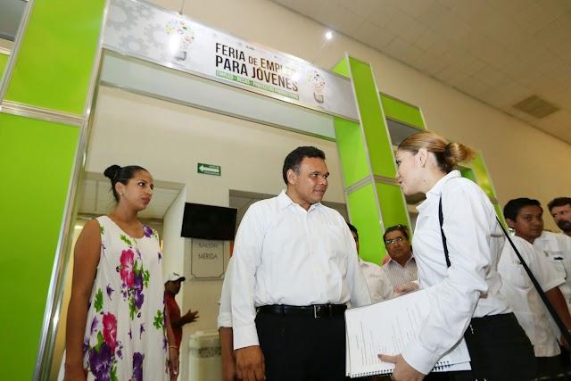 Inauguran Feria del Empleo para Jóvenes 2014
