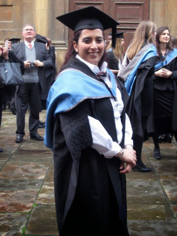The Singapore Lizard: Graduating from an Oxford MSc. - A Solemn ...
