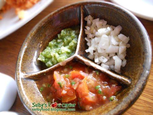 Salsa Fresca - free condiment