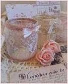 Kleine glazen potjes, DIY