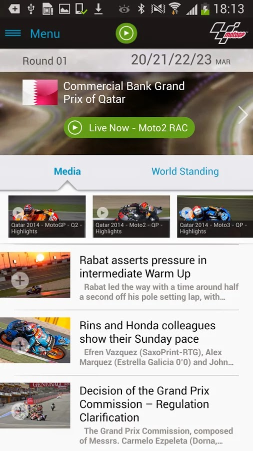 MotoGP Live Experience 2014 v1.1.8