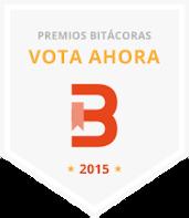 31º en Premios Bitácoras 2015
