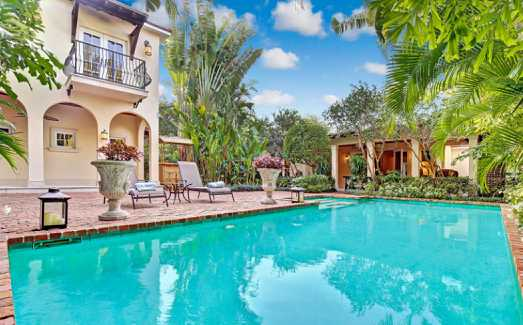 FOR SALE: El Cid historic home (1952), updated, pavered patio around pool