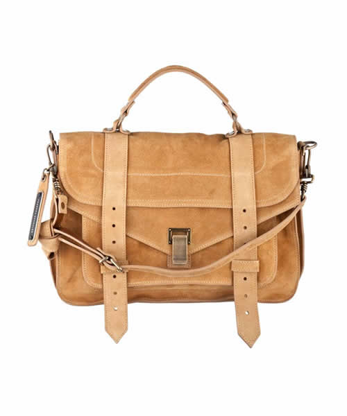 Proenza Schouler PS1 MEDIUM SUEDE