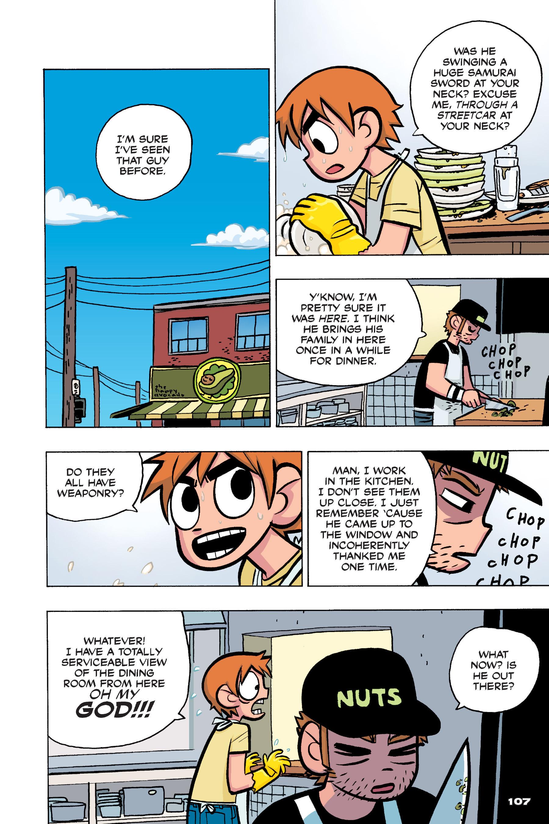 Read online Scott Pilgrim comic -  Issue #4 - 105