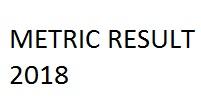 Metric Result 2018