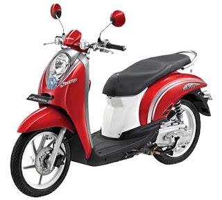 harga sepeda motor honda terbaru