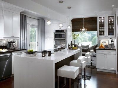 The Cocina Y Muebles: Ideas de Iluminación para Cocinas