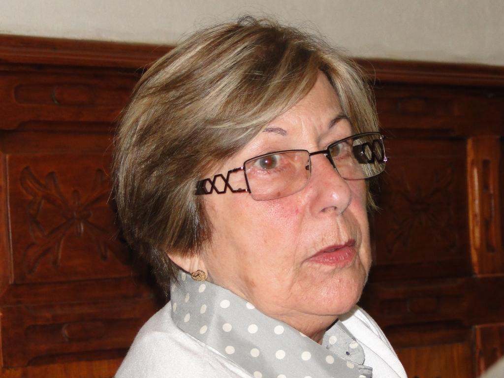 professora Regina Rebello, chefe do Serviço de Patrimônio Histórico da Secretaria de Cultura de Teresópolis