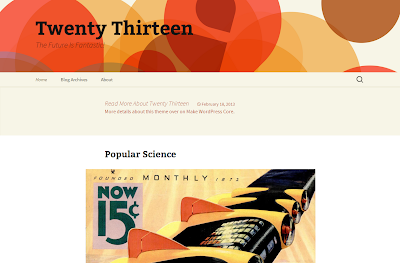 WordPress 3.6 - Twenty Thirteen