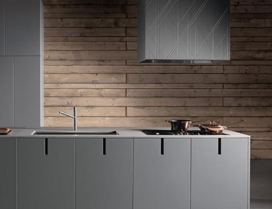 Desain Dapur Modular Kontemporer dan serbaguna dari Rossana