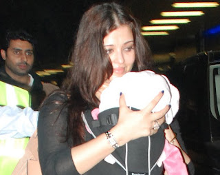 Aishwarya return from Cannes with daughter