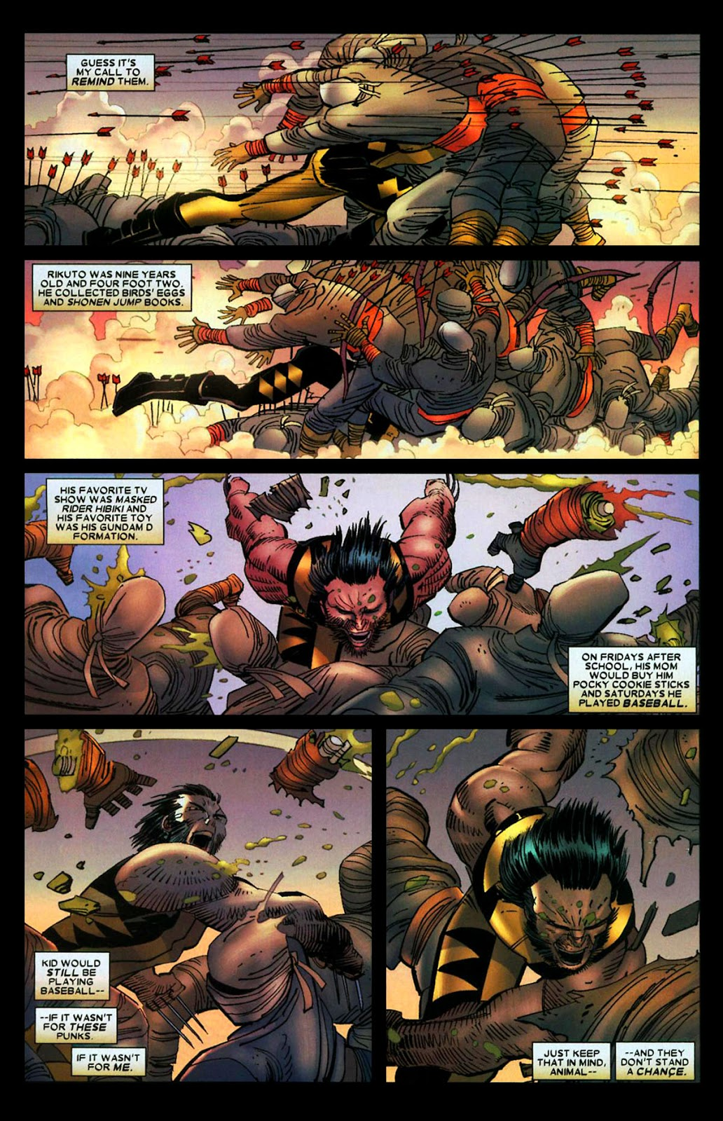 Read online Wolverine (2003) comic -  Issue #29 - 11