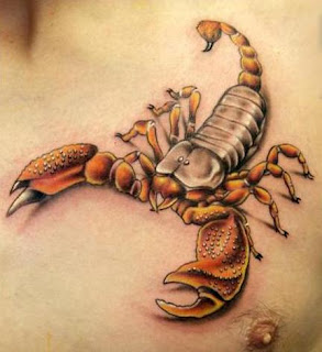 scorpion tattoos trend