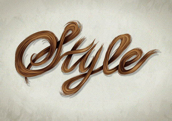 Stylish label vector in Adobe Illustrator