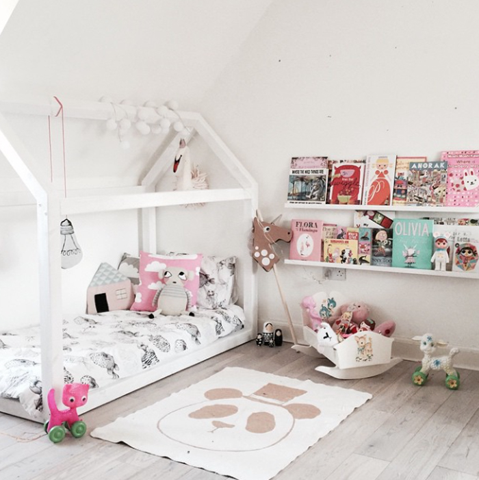 Rafa kids house bed for kids trend for Flooring for child s bedroom