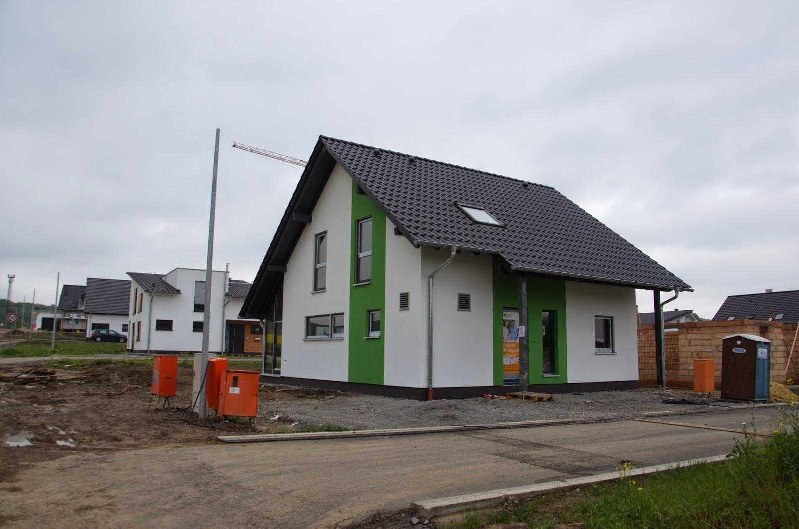 Wir bauen unser traumhaus farbstreifen for Traumhaus bauen