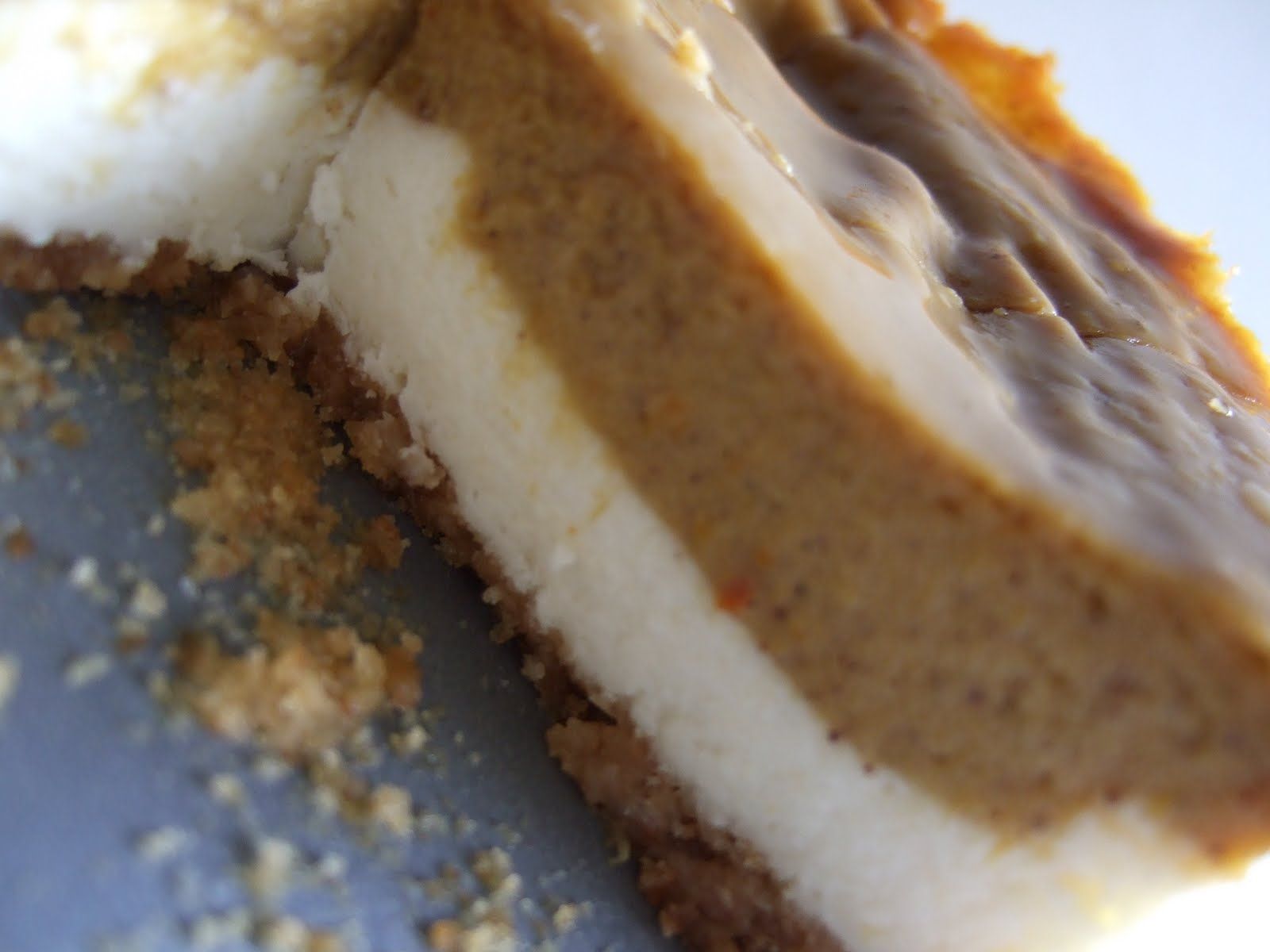 Mel's Creative Corner: Another Cake Story: Pumpkin Pie Cheesecake!