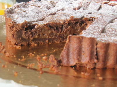crostata cioccolatosa