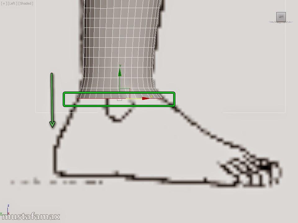6-تصميم واكساء وتحريك شخصية في 3D MAX 2015 نتيجة هذا الدرس