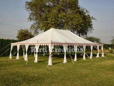 Impressive Handmade Tent