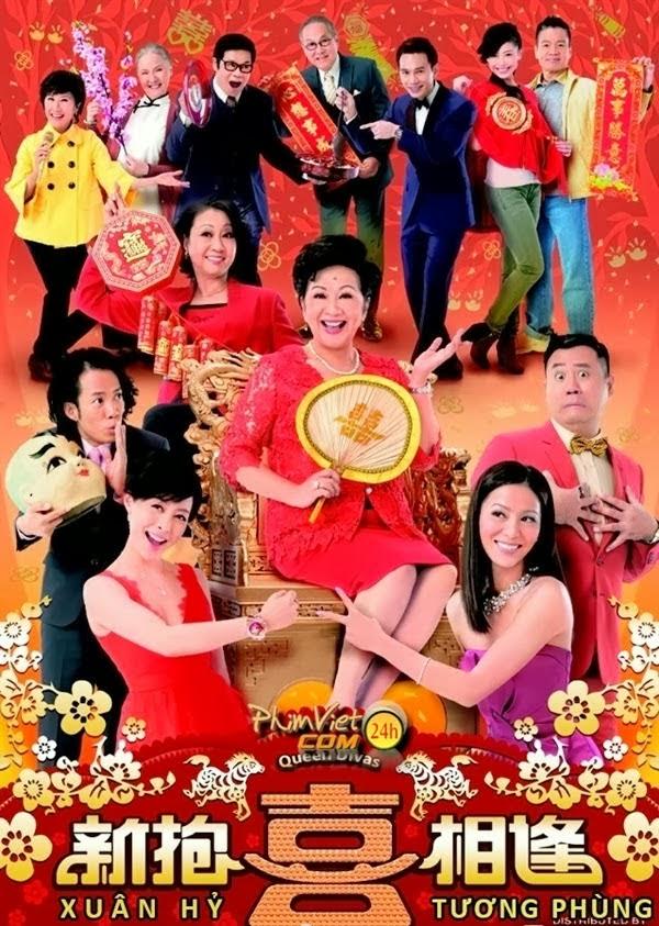 banner phim Xuân Hỷ Tương Phùng (Queen Divas)