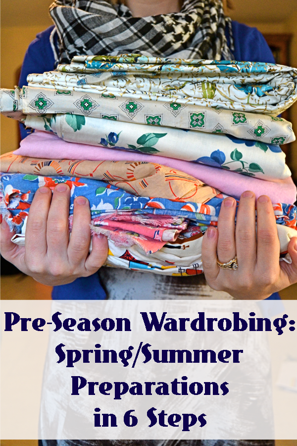 Flashback Summer- Pre-Season Wardrobing: Spring/Summer Preparations in 6 Steps