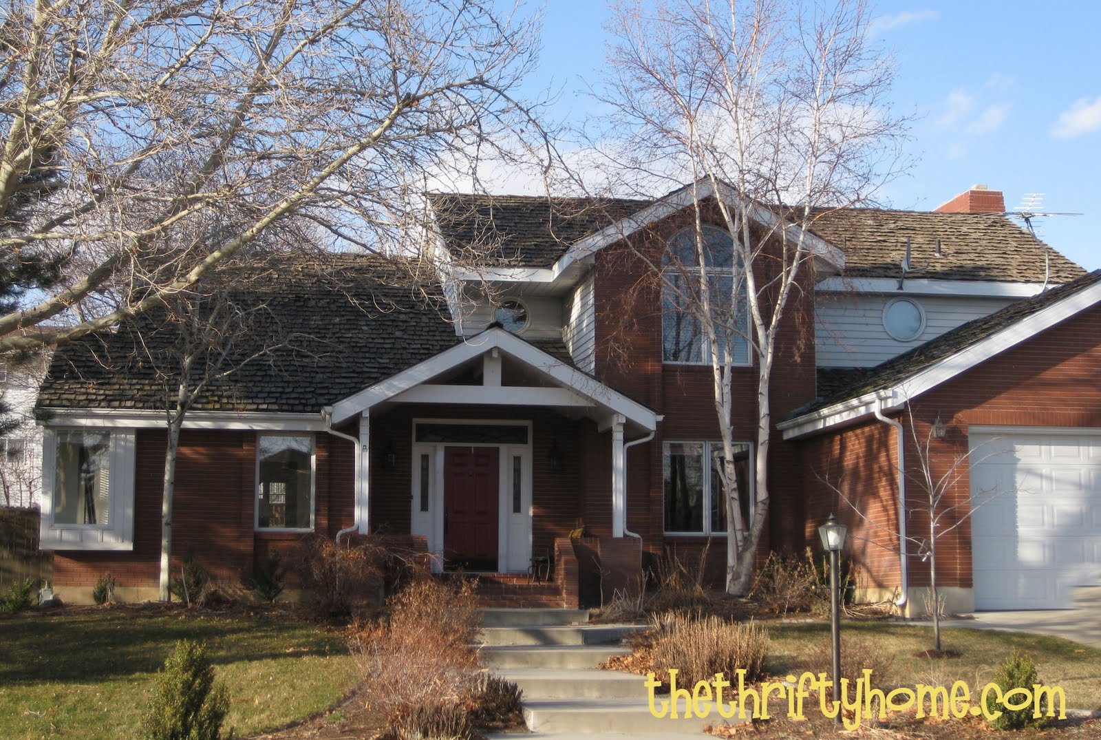 Roof Color Red Brick House Pictures Native Home Garden