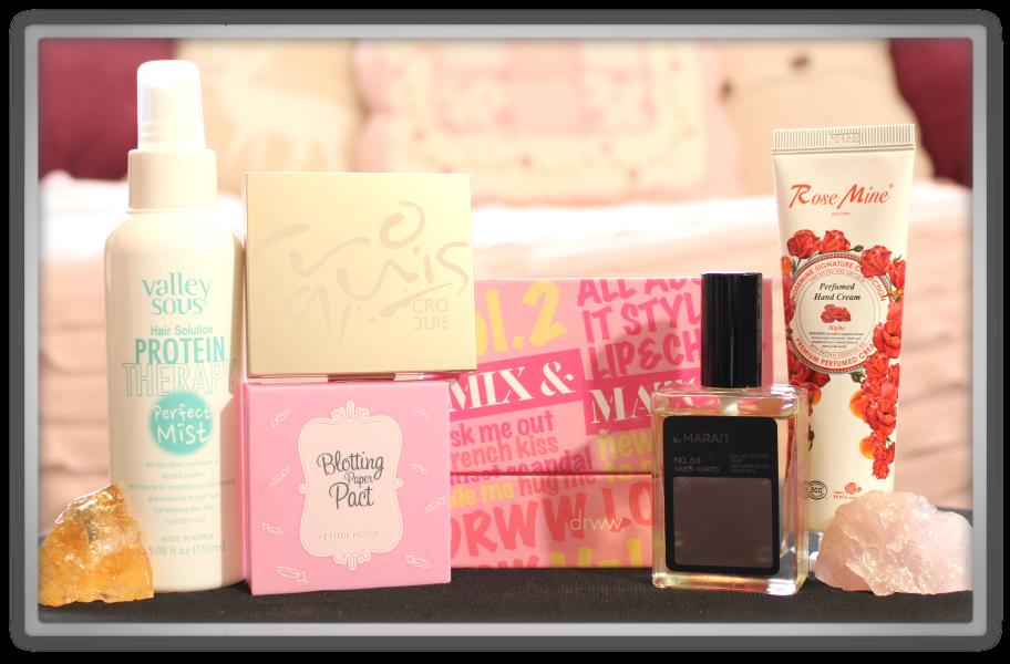 겟잇뷰티박스 by 미미박스 memebox beautybox Special #36 Meme's Pouch unboxing review box look inside