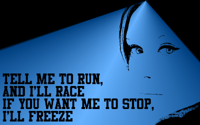 Crazy For You - Adele Song Lyric Quote in Text Image #2