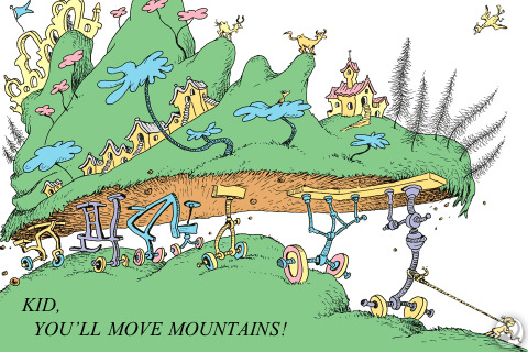 Youre Off To Great Places Today Is Your on Dr Seuss Book Illustrations