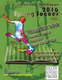 Sign Up For Roosevelt Island Youth Program Soccer League