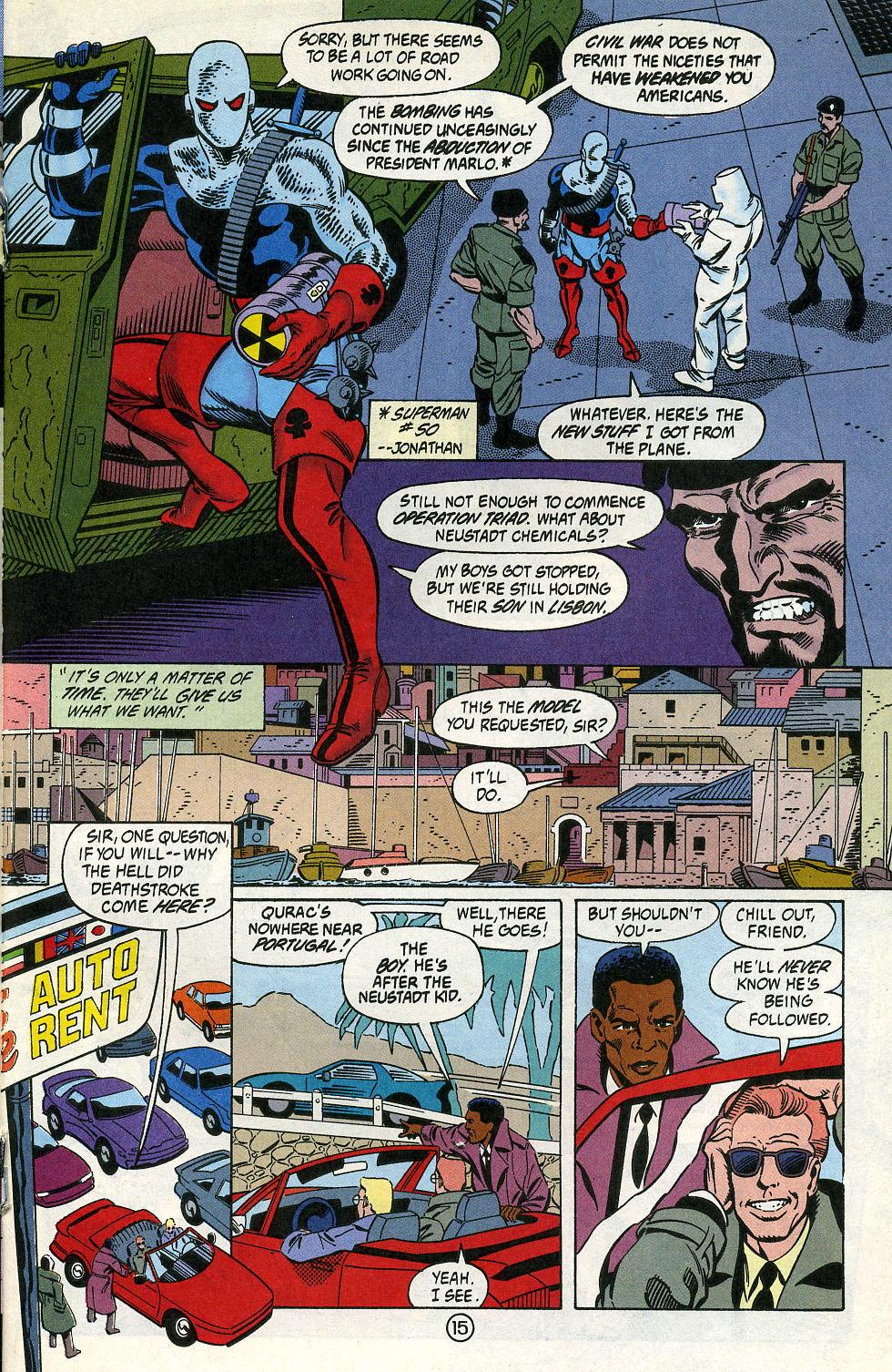Deathstroke (1991) Issue #2 #7 - English 19