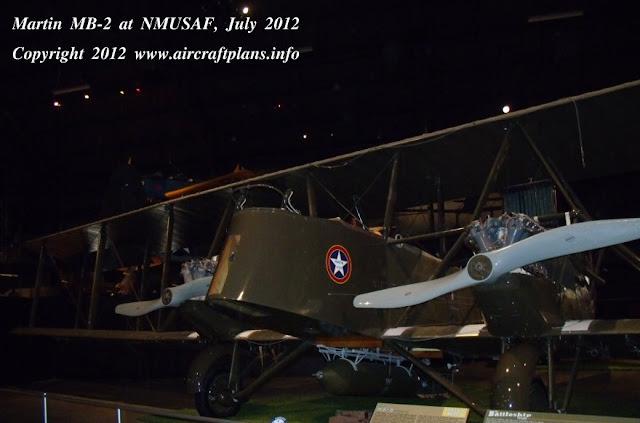 Martin MB-2 bomber replica