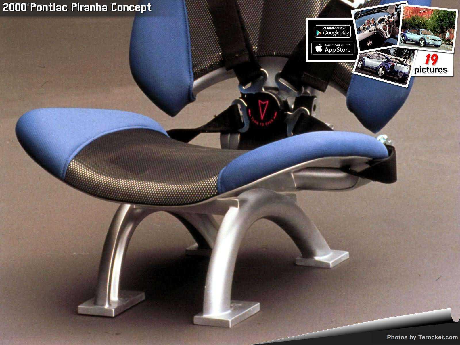 Hình ảnh xe ô tô Pontiac Piranha Concept 2000 & nội ngoại thất
