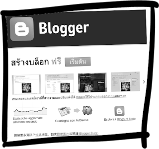 blogger language selection