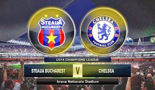 Steaua Bucharest vs Chelsea