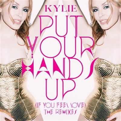 kylie mingle, put your hands up, cover