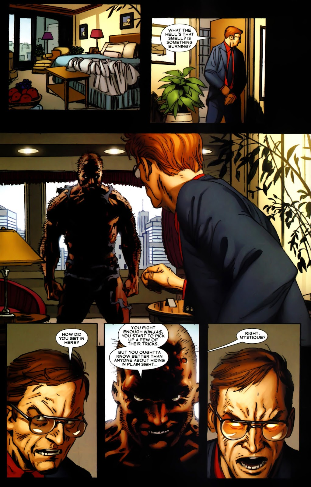 Read online Wolverine (2003) comic -  Issue #64 - 12