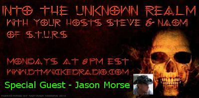 Special guest Jason Morse