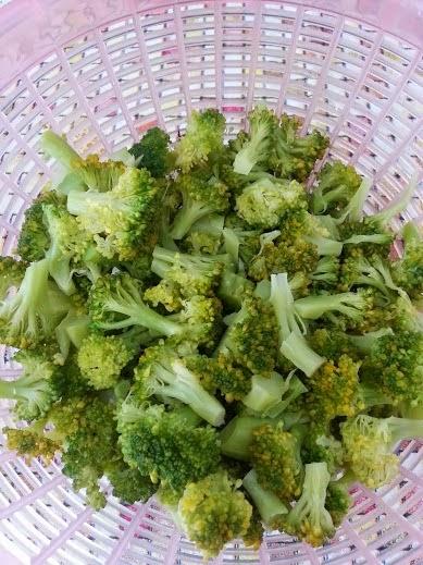 salada de brocolis